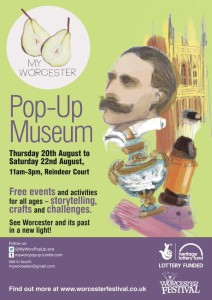Pop Up Museum Poster