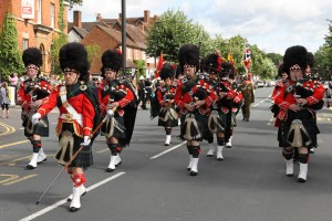 Shirley Pipe Band