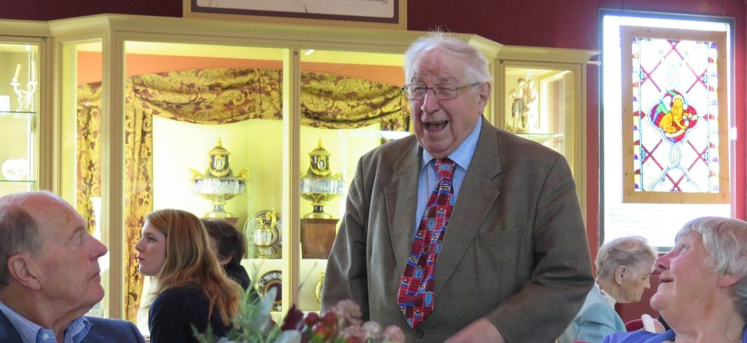 Afternoon Tea with Henry Sandon MBE