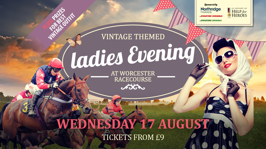Vintage Themed Ladies Evening at Worcester Racecourse