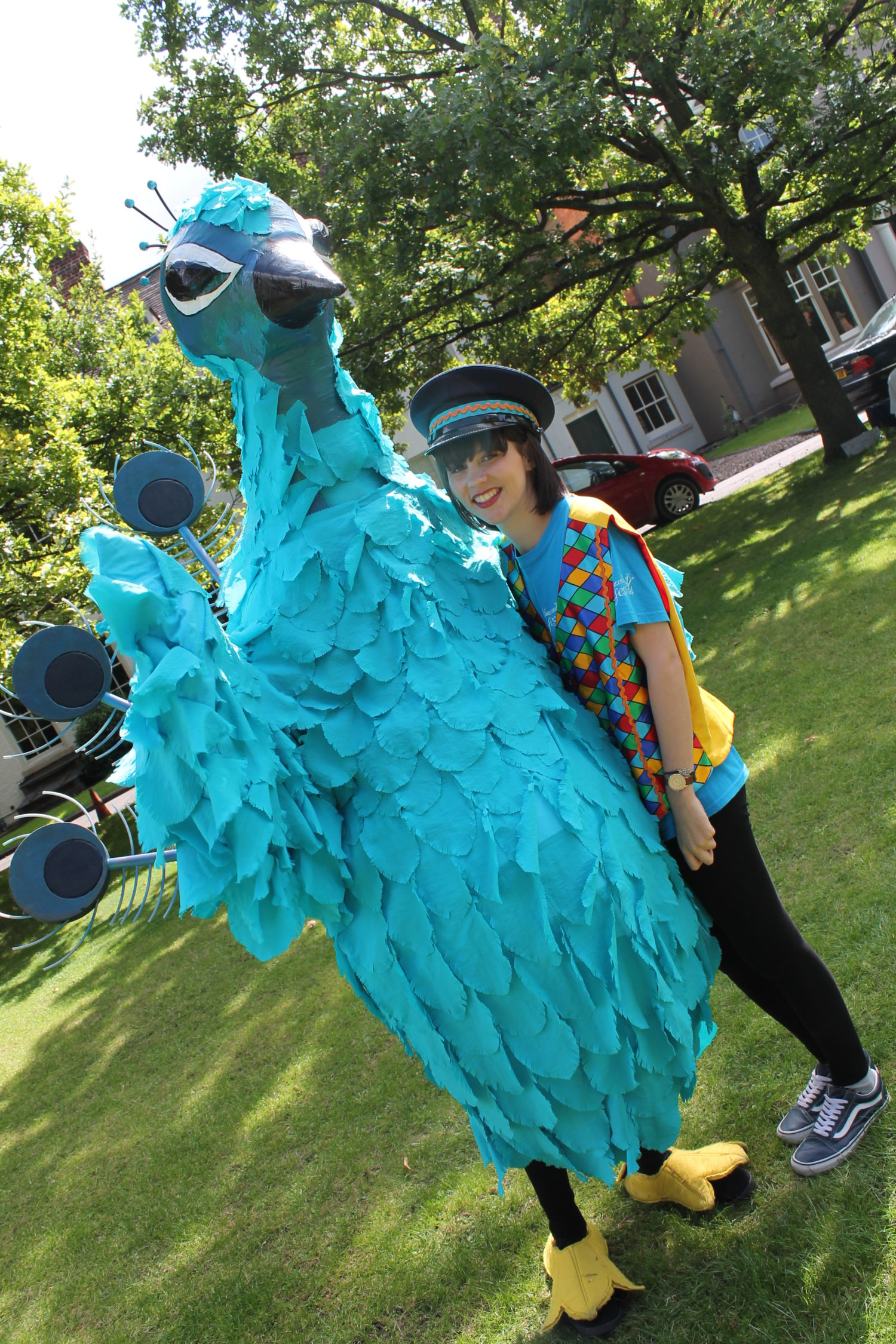 Percy the Festival Peacock