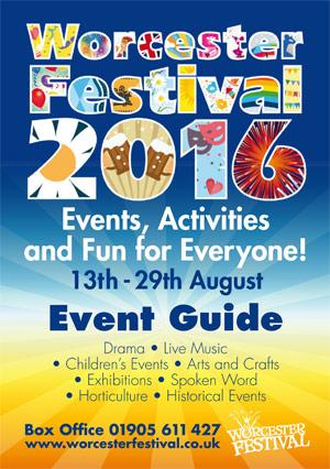 Worcester Festival Brochure