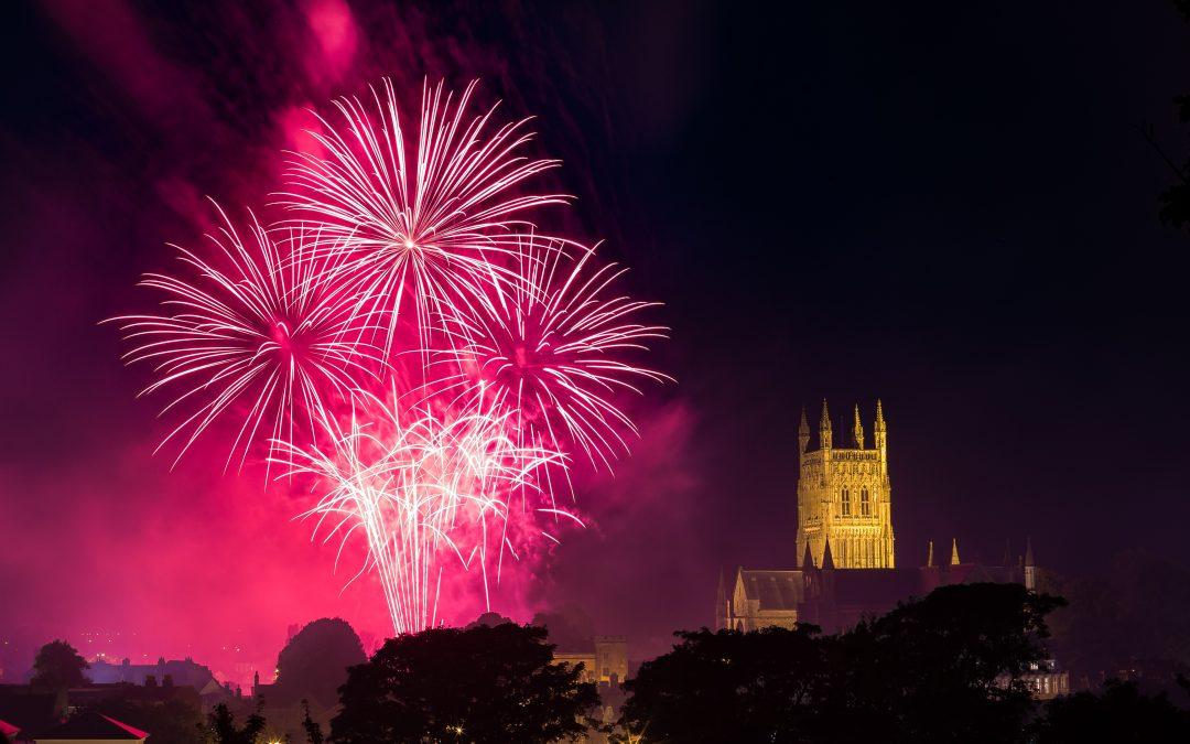 The St Richard's Hospice Festival Fireworks