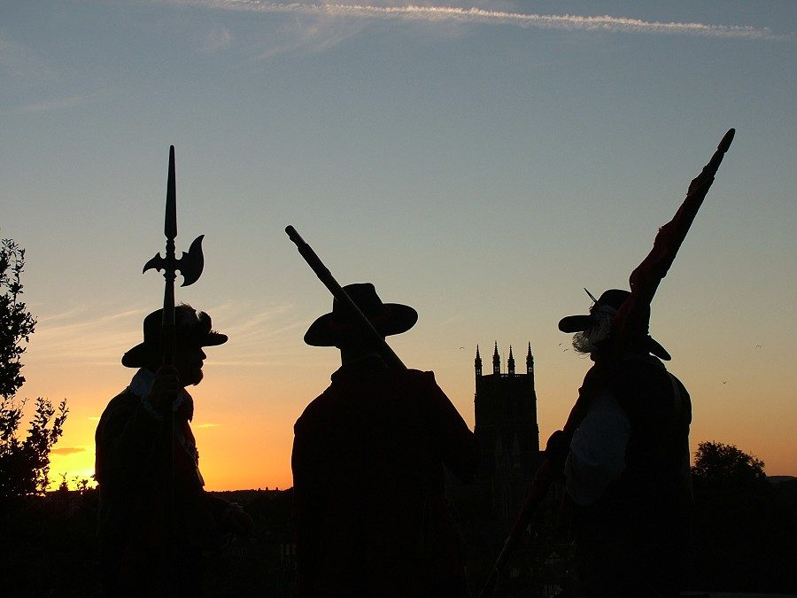 Battle of Worcester City Walk