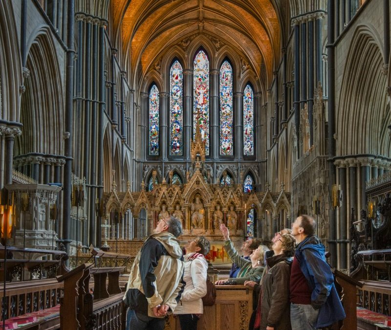 Turn up for a Tour of the Cathedral