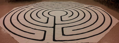 Labyrinth in the Lady Chapel