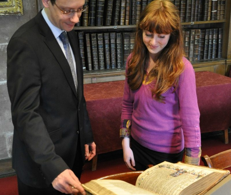Medieval Library Tour