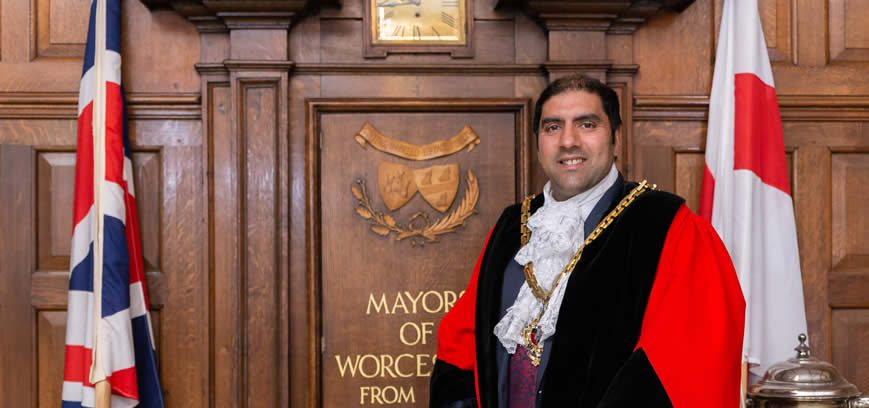 Official Opening of the Festival by the Mayor of Worcester