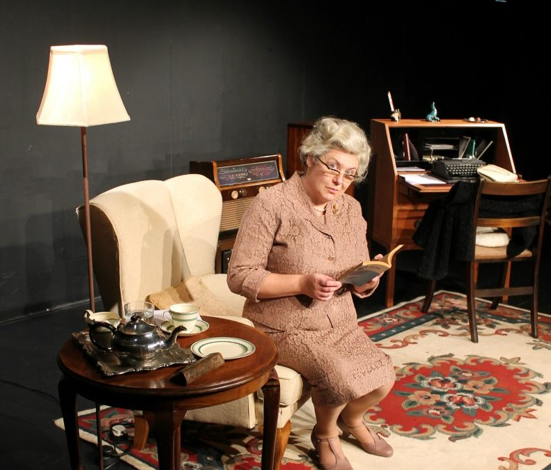 Worcester Repertory Company presents Where Is Mrs Christie? The Mystery of Agatha Christie's Eleven Lost Days