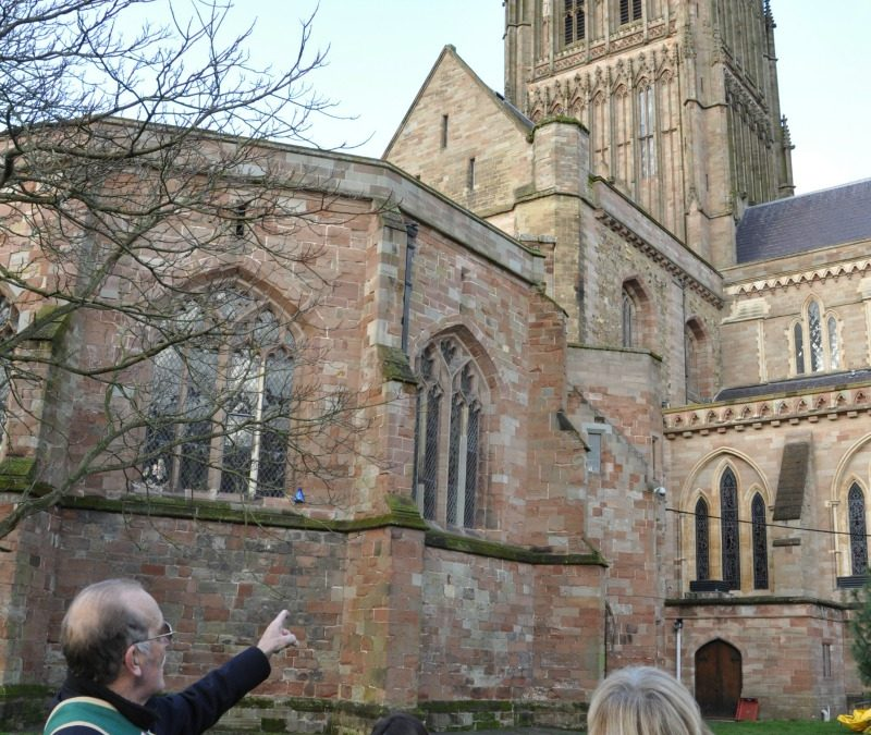 Turn up for a Tour featuring the Monastic History of the Cathedral