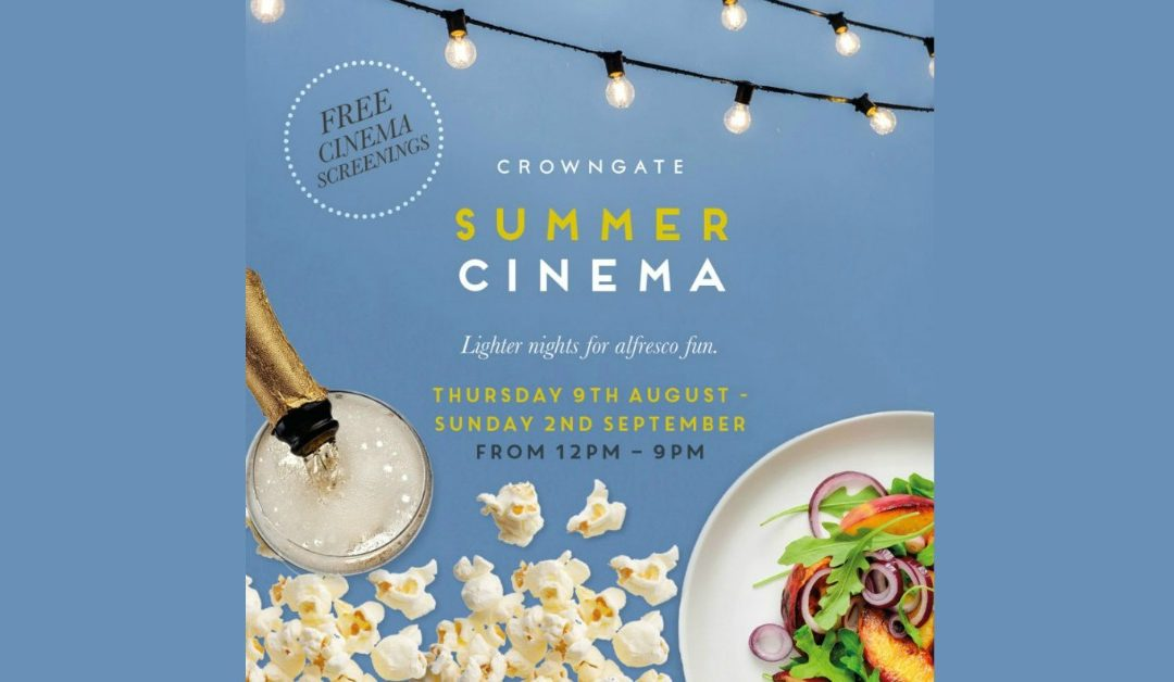 Crowngate Summer Cinema – Greatest Showman