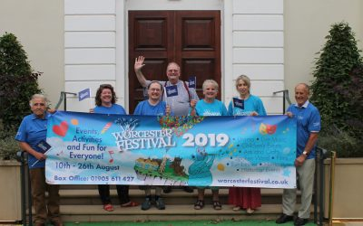 Team Gear Up for Worcester Festival 2019!
