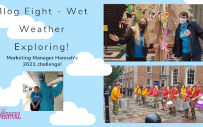 Blog Eight – Wet Weather Exploring!