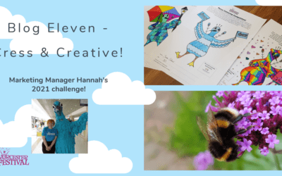 Blog Eleven – Cress and Creative