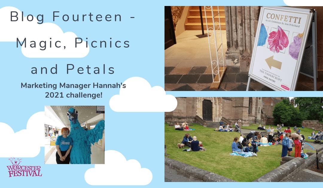 Blog Fourteen – Magic, Picnics and Petals